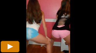 Teen slut twerking video
